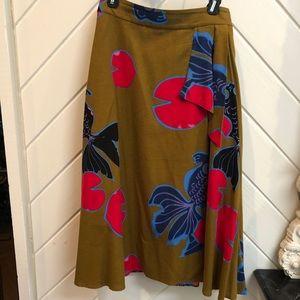 Eva Franco koi print dress